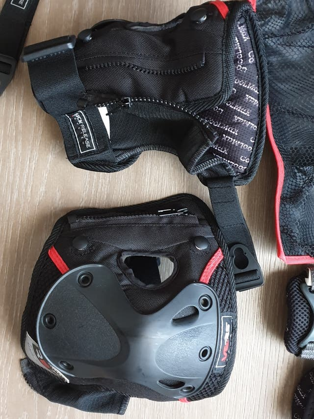 Protecciones Patines y Skate de marca SEBA.