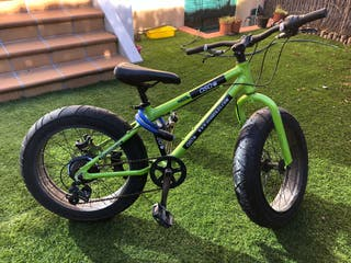 Fat bike bicicleta ruedas fat