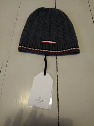 New Grey Wool Hat MONCLER