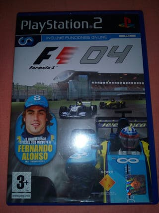 Juego ps2 Formula 1