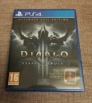 Diablo 3 Reaper of Souls Ultimate Evil Ed PS4