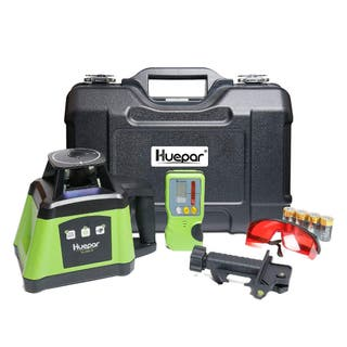 Huepar RL200HR Kit de nivel láser rotatorio rojo a