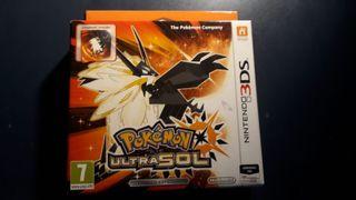 PRECINTADO Pokémon Ultrasol 3DS Coleccionista