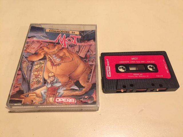 Mot Commodore 64 (cassette 1989)