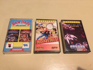 Lote juegos Commodore 64 (cassette)