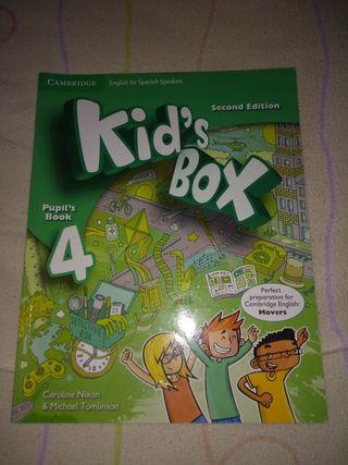 venta libro ingles kid's box 4