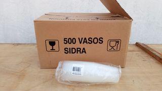 500 Vasos plastico