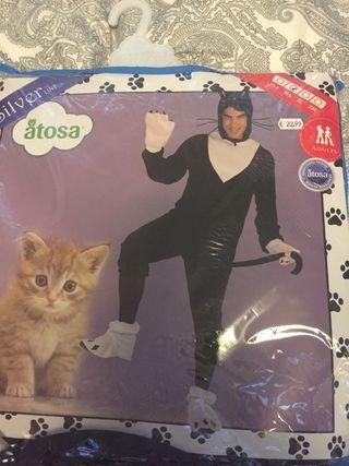 Disfraz de gato talla M