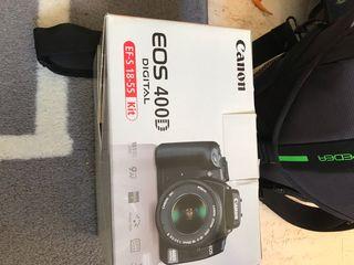 Canon 400D , objetivo EF-S 18-55 y polarizador