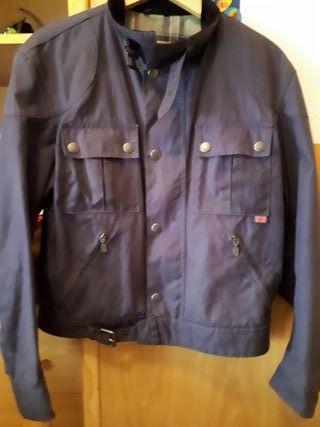 Cazadora chaqueta Belstaff corta azul. Talla S.