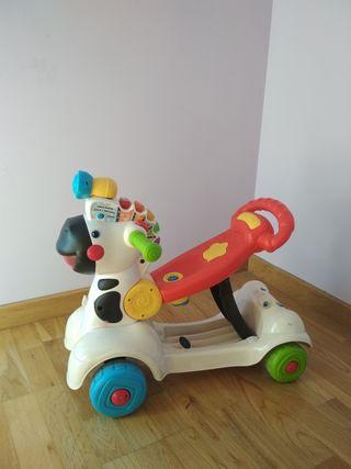 correpasillos-patinete 3x1