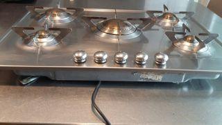 cocina encimera smeg muy buen estado