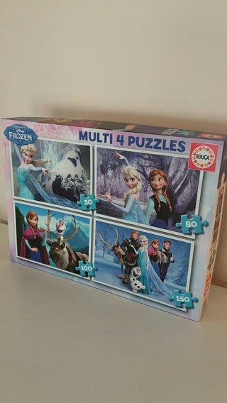 Puzzle disney Frozen