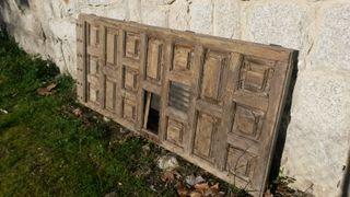 Puerta de madera vieja