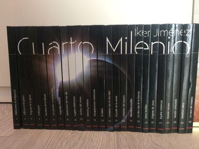 Colección de libros/vídeos de Cuarto Milenio de segunda mano por 20 ...