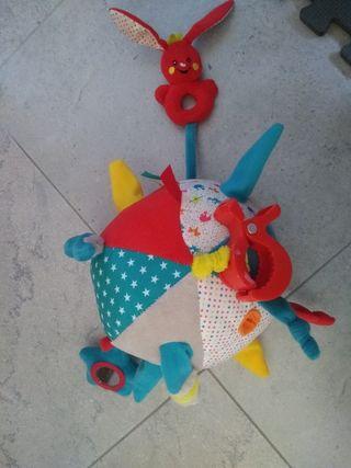 pelota multisensorial bebe