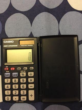 Mini calculadora Casio HS-8ver