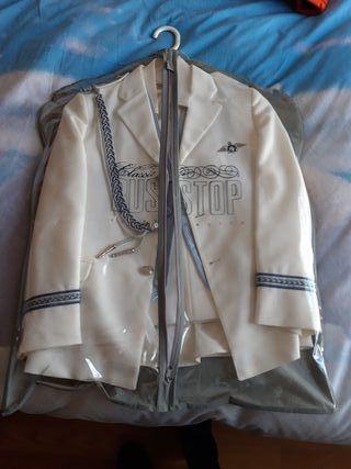 traje almirante
