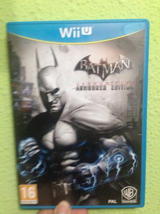 Batman arkaham city:para Wii u
