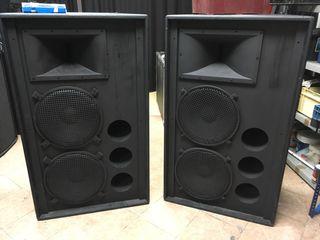 Alquiler sonido altavoces