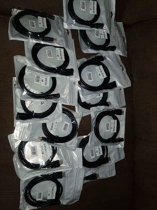 se vende lote de 15 extensiones de HDMI de 1.5m