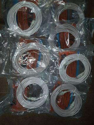se vende lote de 7 cables de fijo y de Internet