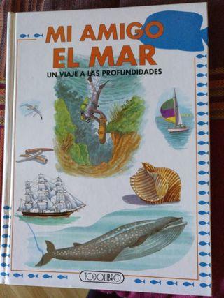 """Libro """"Mi amigo el mar"""""""