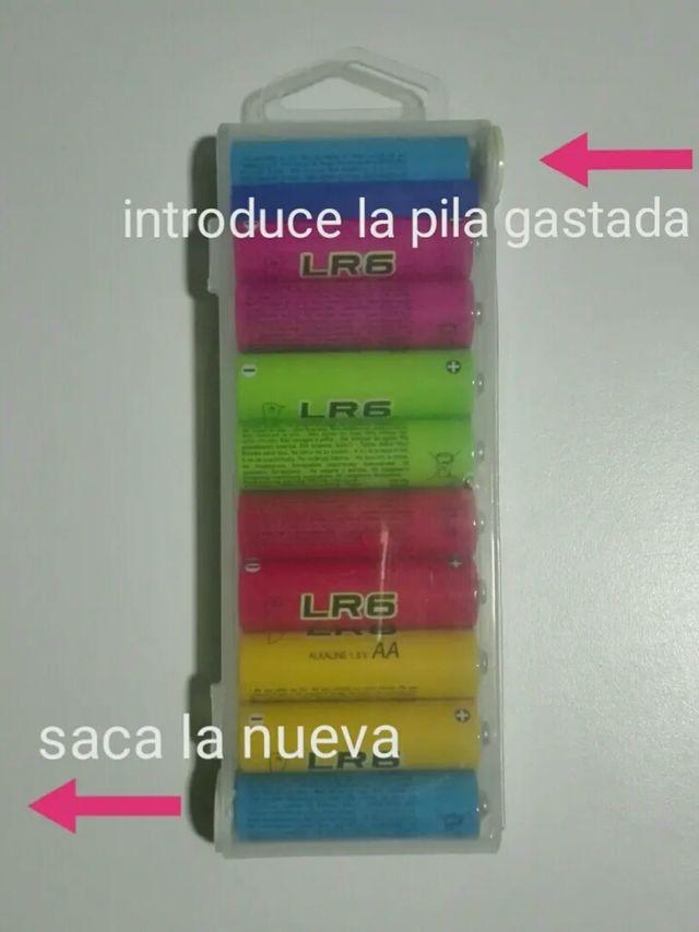 Blíster 10 baterías regalo