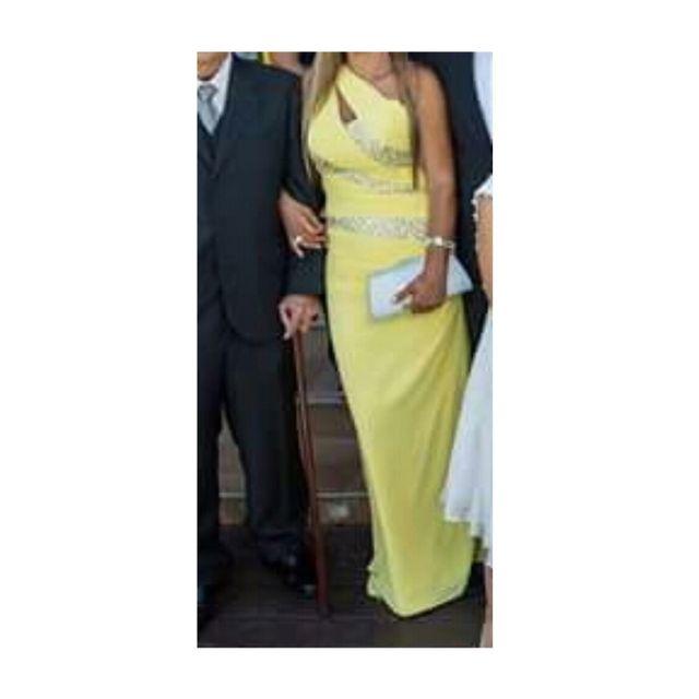304f32c223 Vestido de madrina usado solo un dia de segunda mano por 100 € en ...