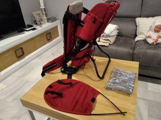 Mochila portabebés Brevi Back Carrier Rocky rojo