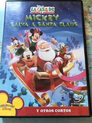Mickey salva a Santa Claus - DVD