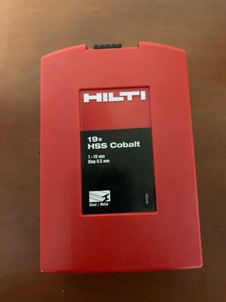 Brocas Hilti Cobalt.