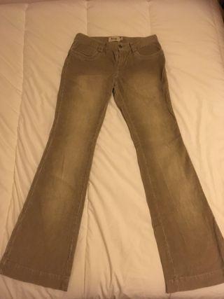 pantalon canpana de pana zara