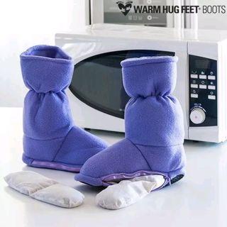 Botas calentables para microondas