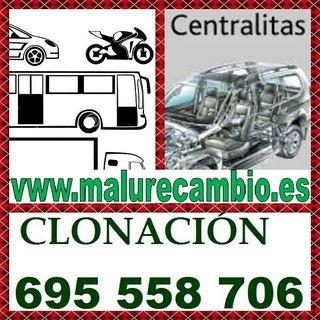 CENTRALITAS. INTERCAMBIO, CLONACION, RECONSTRUIDAS