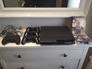 PS3 160GB. Play Station 3. mandos y juegos