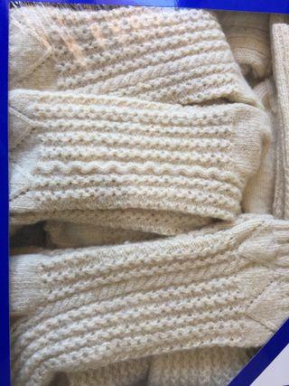 Calcetines tejidos a mano pura lana de oveja