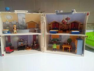 Casa Muñecas Maletín