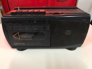 Radio cassete AM y FM
