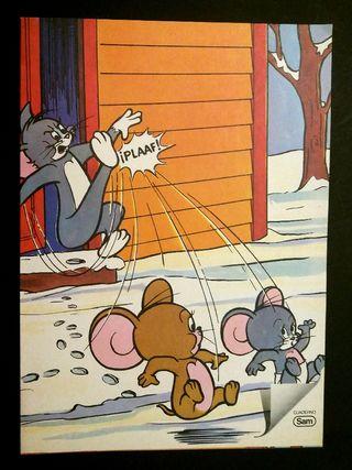 Cuaderno escolar Tom y Jerry marca Sam 1981