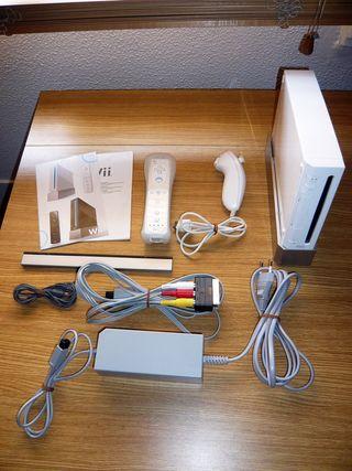 Wii Blanca con caja