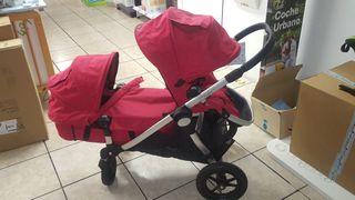 carrito gemelar city select baby jogger