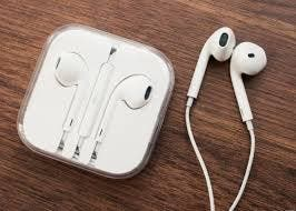 Auriculares iPhone.-