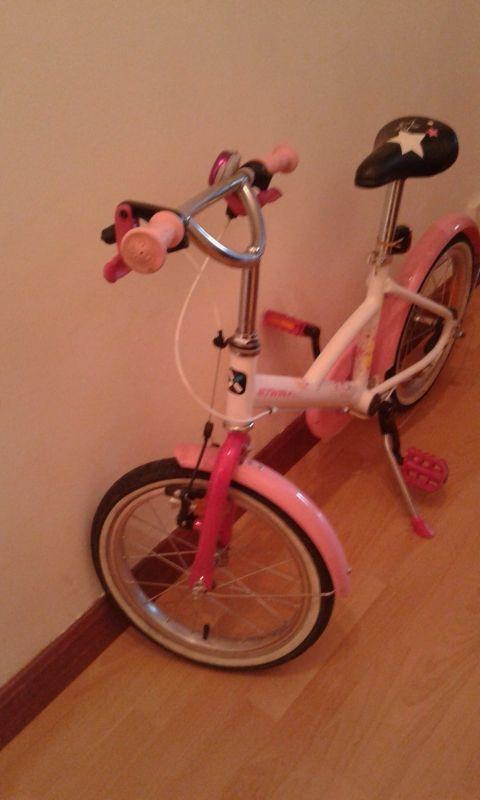 bici de niña de 20 pulgadas