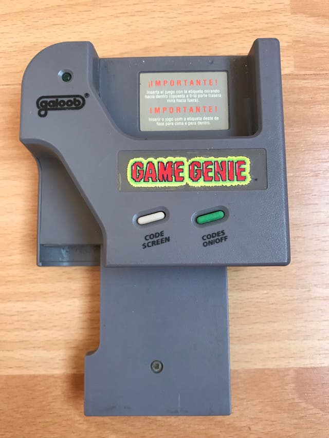 Game Genie para game boy