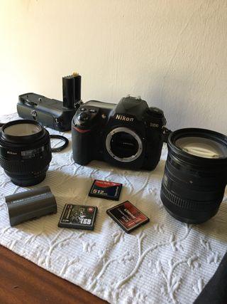 Cámara réflex Nikon D200