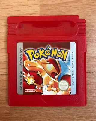 Pokemon game boy rojo