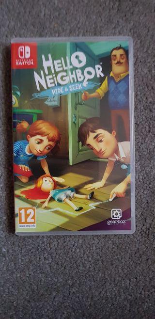 juegos Nintendo switch hello neighbor