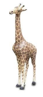 Escultura jirafa para carroza