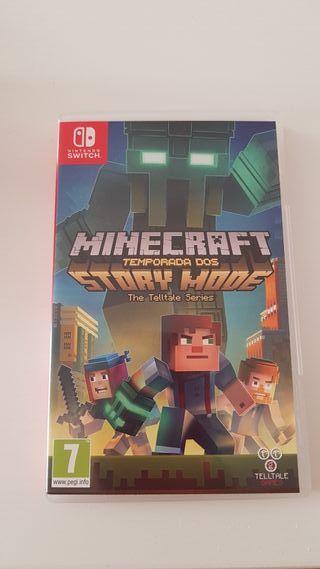 minecraft story mode ( Nintendo switch)